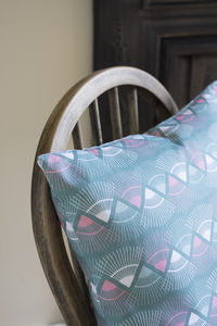 A Mint 'Rakish' Cushion