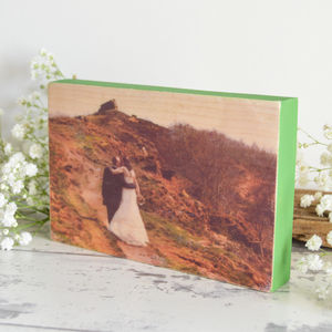 Photograph Wooden Block
