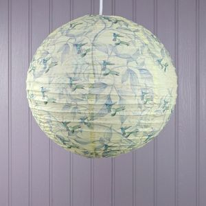 The Aviary Hummingbird Light Shade - lamp bases & shades
