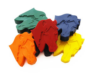 Set Of Six Horse Crayons