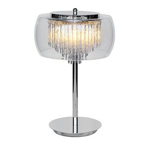 Glass Shade Contemporary Chandelier Table Lamp - lighting