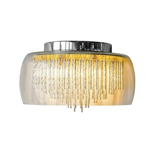 Glass Shade Contemporary Chandelier Wall Light - office & study