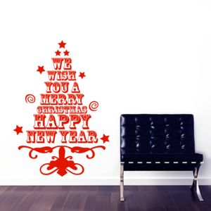 Christmas Tree Wall Sticker - christmas home accessories