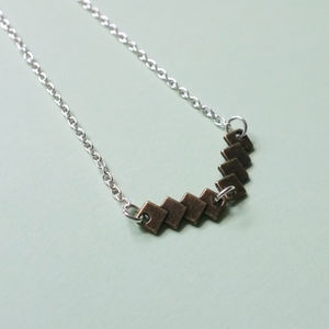 Brass Charm Necklace - necklaces & pendants