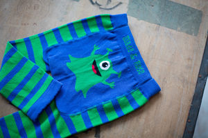 Monster Leggings - babies' tights