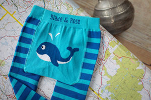 Blue Whale Leggings