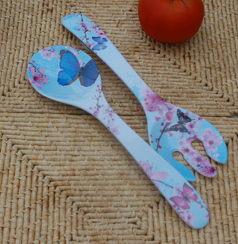 Butterfly Salad Servers