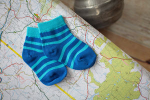 Blue Whale Matching Socks Two Pack