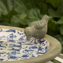Ceramic Bird Bath