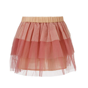 Adelena Skirt In Strawberry Creme