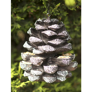 Pinecone Birdfeeder - birds & wildlife