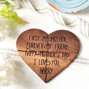 First My Mother Quote Jigsaw Card