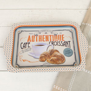 Vintage Cafe Serving Tray - trays