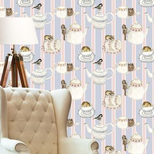 Tea Party Wallpaper - home accessories