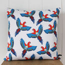 Majestic Macaw Cushion