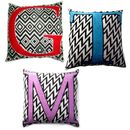 Personalised Monogram Knitted Cushion Cover