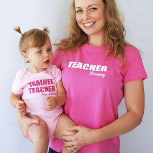 Personalised When I Grow Up Mummy Set - tops & t-shirts
