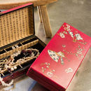 Red Chinese Jewellery Box