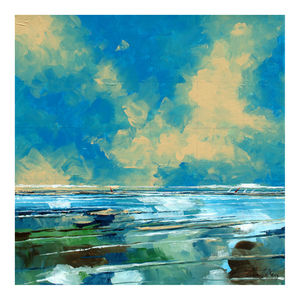Squared Seascape - canvas prints & art