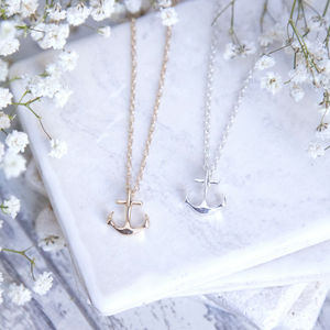 Anchor Necklace - necklaces & pendants