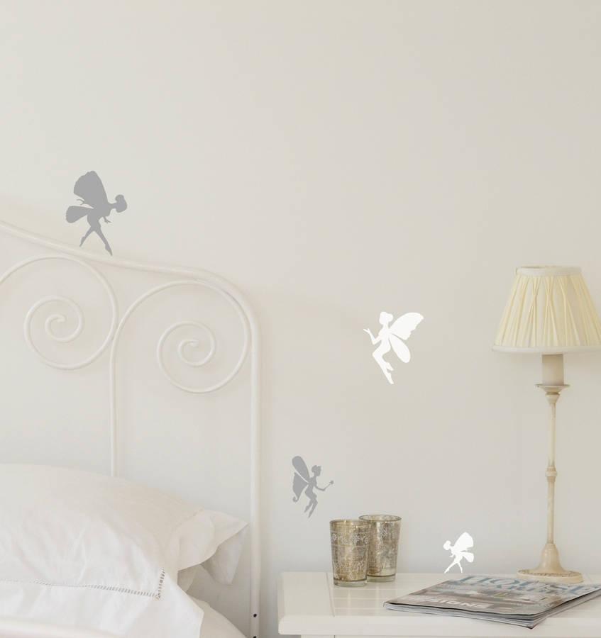 Set Of Mini Fairy Wall Stickers