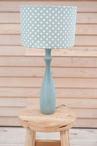 Madelaine Sage Polka Dot Lampshade - lighting