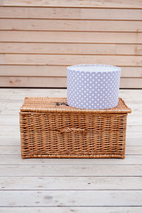 Madelaine Lavender Polka Dot Lampshade - furnishings & fittings