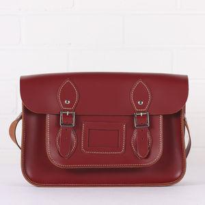Leather Satchel Collection, Medium