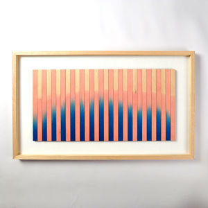 Original Framed Artwork 'Gradation Six'