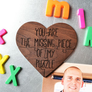 Missing Piece Jigsaw Magnet - magnets