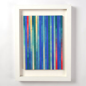 Original Framed Artwork 'Gradations Blue Two'