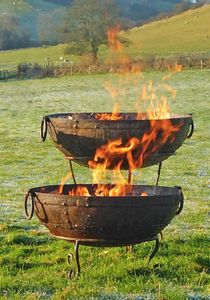 Small Barbeque Fire Bowl