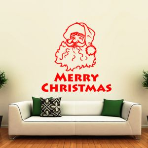 Father Christmas Wall Sticker