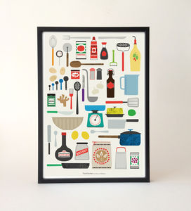 Kitchen Essentials Print