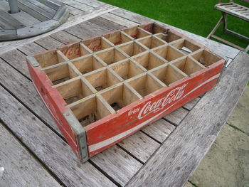 Vintage Coca Cola 24 Section - Red