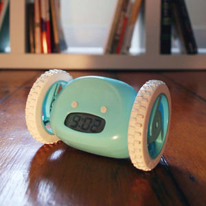 Aqua Clocky The Runaway Alarm Clock - clocks