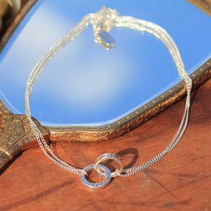 I Love You Silver Infinity Necklace - jewellery for women