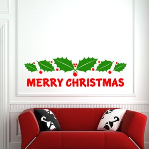 Merry Christmas Wall Sticker