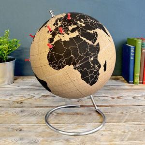Cork Globe - home accessories