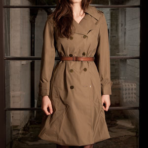 Nato Strict Trench Coat - women's fashion