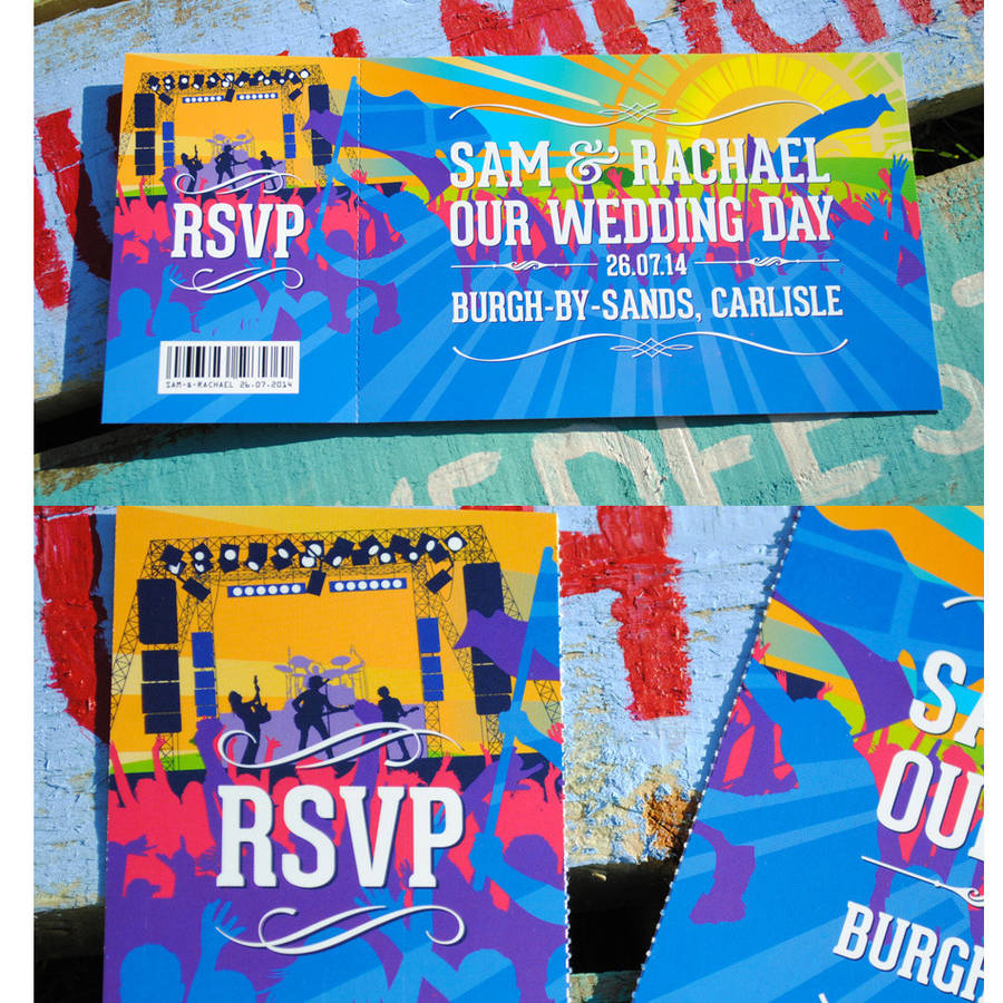 concert ticket invitations – Concert Ticket Birthday Invitations