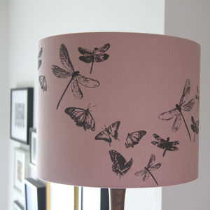 Dragonflies And Butterflies Lampshade - lampshades
