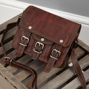 Mini Mini Leather Satchel