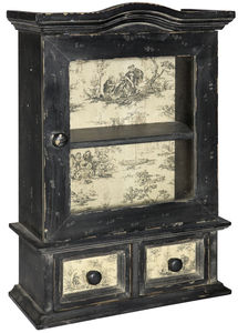 Distressed Cabinet - shelves