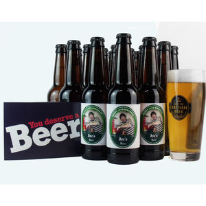 30 Personalised Birthday Beers - 30th birthday gifts