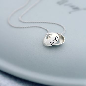 Personalised Open Sphere Necklace