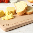 Personalised Wooden Cheese Board