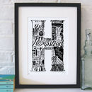 Best Of Hampstead Screenprint
