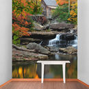 Water Wheel Self Adhesive Wallpaper