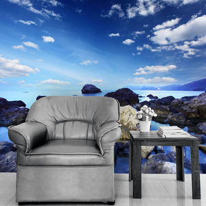 Calm Blue Waters Self Adhesive Wallpaper - home accessories